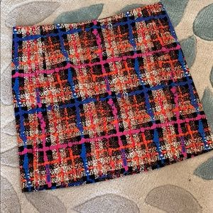 Multi-colored skirt from JCrew